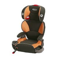Graco Affix Highback Booster - Tangerine Backless Booster Seat With Latch System