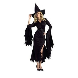 FunWorld Gothic Witch Costume One Size Fits Most