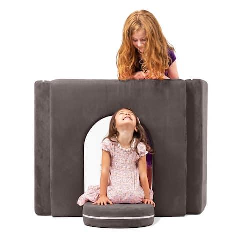 Zipline Playscape Castle Gate - Playtime Furniture for Kids