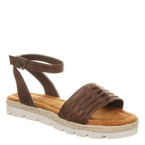 BEARPAW Women's Aubree Ankle Strap Sandals