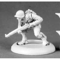 Reaper Miniatures Pfc. Tim Hernandez #50339 Chronoscope Unpainted Metal Figure