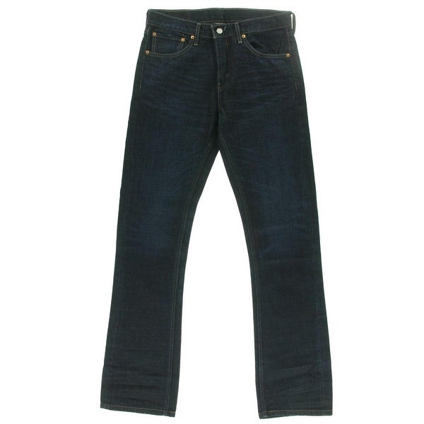ee71ca23 Shop Levi's Mens 527 Slim Bootcut Jeans Denim Straight Fit - Free Shipping  On Orders Over $45 - Overstock - 16589411