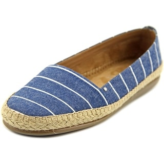 Aerosoles Solitaire Women  Round Toe Canvas Blue Espadrille