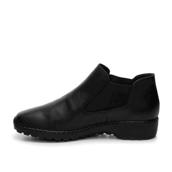 Rieker Womens doro Closed Toe Ankle Fashion Boots, Black, Size 9.5