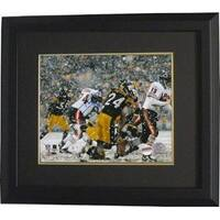 Ike Taylor signed Pittsburgh Steelers 8x10 Photo Custom Framed