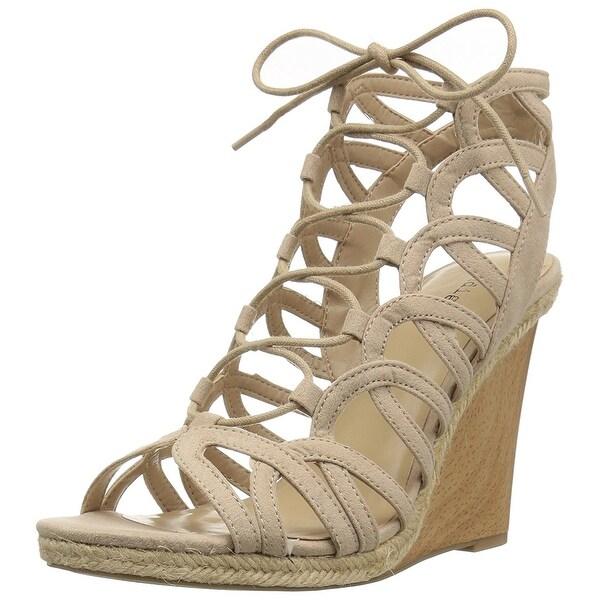 Indigo Rd. Womens Holiday Fabric Open Toe Casual Platform Sandals