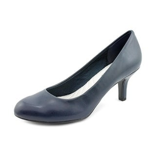 Easy Street Passion Women Round Toe Synthetic Blue Heels