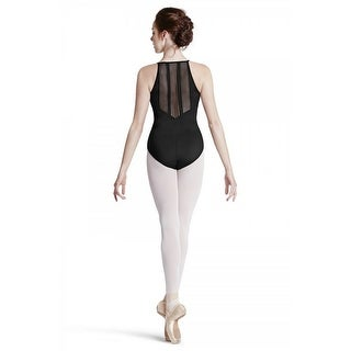 Bloch Girls Panel Back Cami Leotard