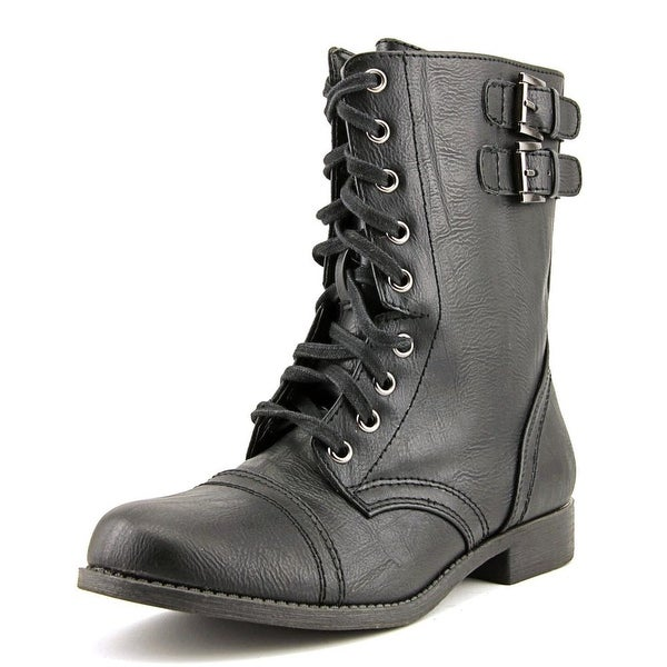 Rampage Jaycer Round Toe Synthetic Ankle Boot