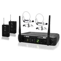 Premier Series Professional UHF Microphone System with - 2 Body-Pack