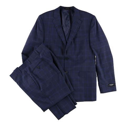 Ralph Lauren Mens Total Stretch Two Button Suit