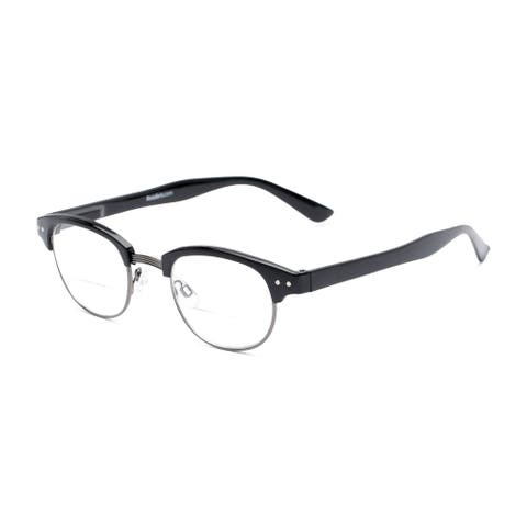 Readers.com The Dunlap Bifocal Browline Reading Glasses
