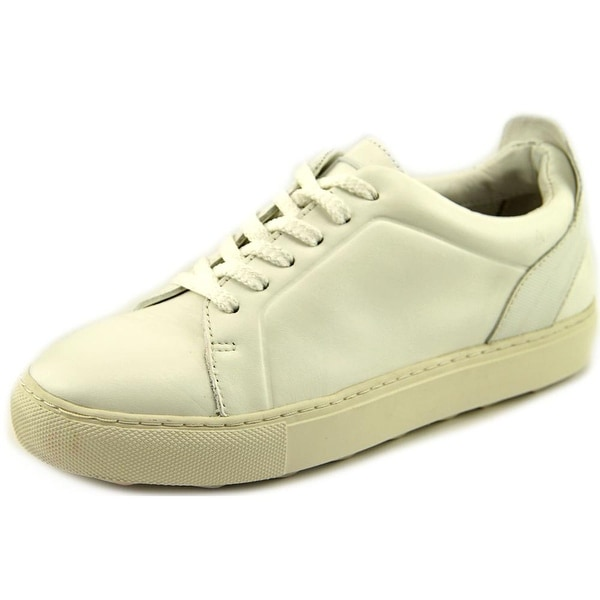 Dolce Vita Westin Women Round Toe Leather White Sneakers