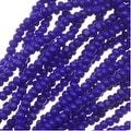Czech Charlotte Seed Beads 13/0 Opaque Cobalt Blue 1/2 Hank - Thumbnail 0
