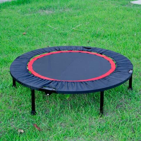 40 Inch Mini Exercise Trampoline Indoor Fitness Rebounder Trampoline