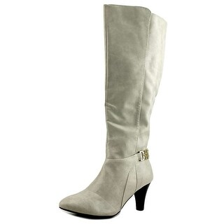 Karen Scott Womens HAIDAR Almond Toe Knee High Fashion Boots