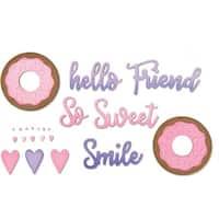 Phrases; Sweet & Donut - Sizzix Thinlits Dies By Jen Long