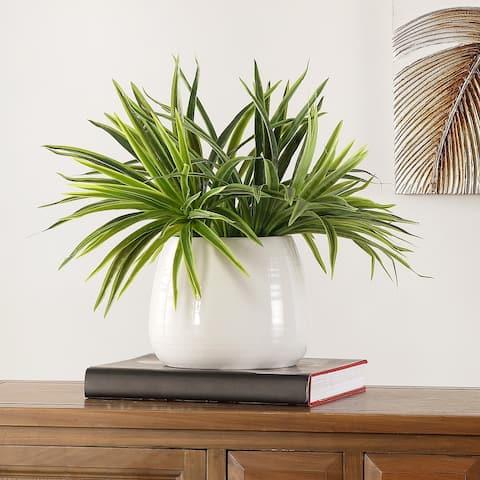 "SAFAVIEH Faux Orchid Potted Plant - 17.7"" W x 16.5"" L x 16.9"" H"