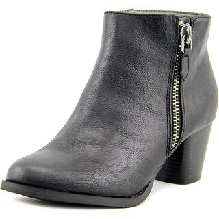 Rialto Chandelier Women Round Toe Synthetic Black Ankle Boot