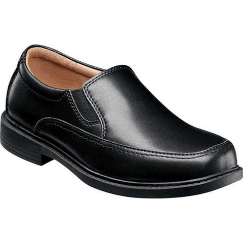 Florsheim Boys' Bogan Jr. II Loafer Black Leather