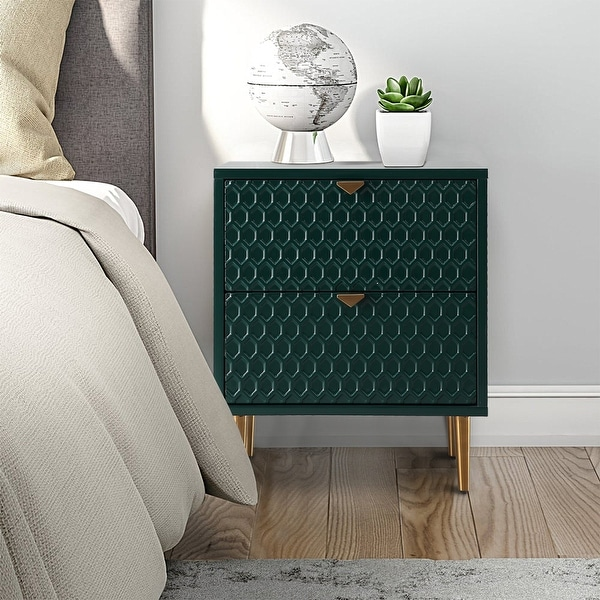 Fully-Assembly Side Table With Storage