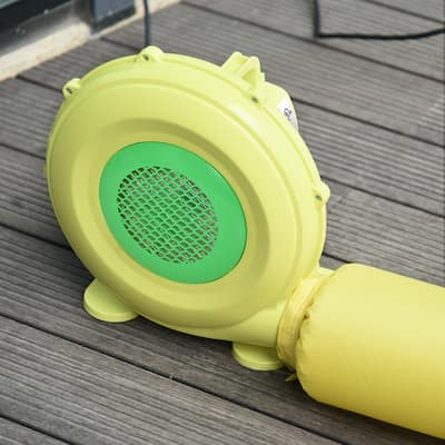 Outsunny Electric Air blower 450-Watt Fan Blower Compact and Energy Efficient Pump Indoor Outdoor for Inflatable Bounce House