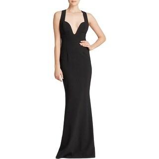 JILL Jill Stuart Womens Evening Dress Criss-Cross Back Prom
