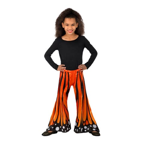Child Monarch Butterfly Halloween Pants