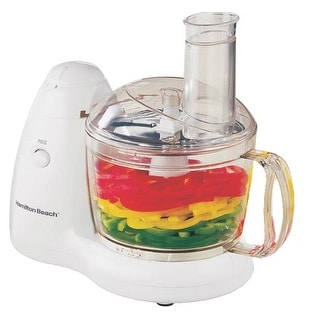 Hamilton Beach 70550R PrepStar Food Processor, 8-Cup, White