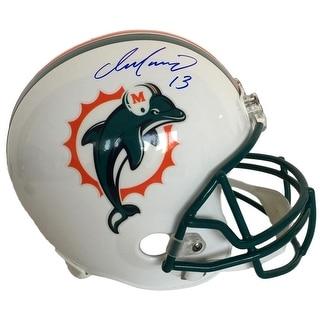 Dan Marino Signed Miami Dolphins Full Size Replica Helmet TriStar