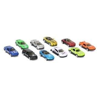 Lollipop 10-Piece Driving Die-Cast Car Set