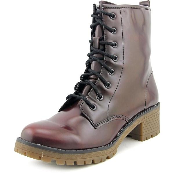 Madden Girl Eloisee Burgundy Boots