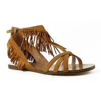 Sigerson Morrison Womens Bross Tan Ankle Strap Sandals Size 9.5