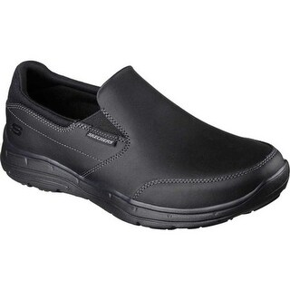 Skechers Men's Relaxed Fit Glides Calculous Slip On Black