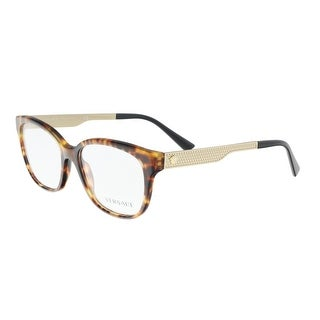 Versace VE3240 5208 Havana Square Optical Frames - 54-16-140