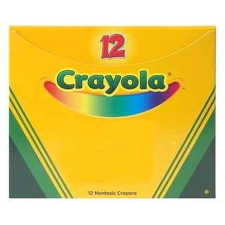 Crayola Bulk Crayons 12 Ct Yellow