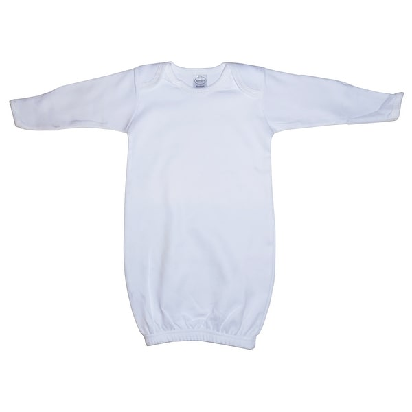 Bambini Infant White Gown - Size - Newborn - Unisex