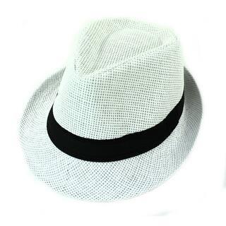 88dcd459b96 Unisex Summer Panama Straw Fedora Hat Short Brim Beach Sun. New Arrival.  Quick View