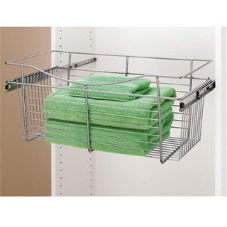 Rev A Shelf 18 In. X 16 In. X 11 In. Wire Pull-Out Closet Baskets -