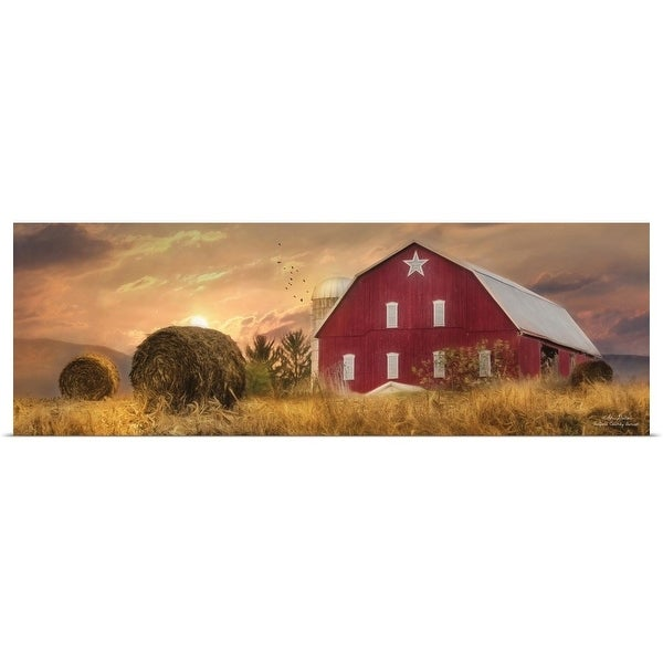 """""""Bedford County Sunset"""" Poster Print"""