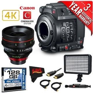 Canon EOS C200 Cinema Camera Intl Version with Canon 35mm Cine Lens