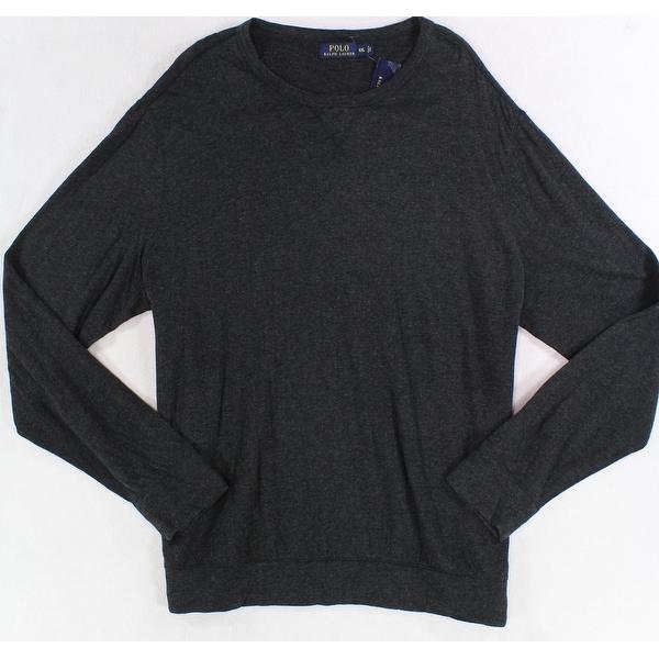 034c20c42 Shop Polo Ralph Lauren NEW Dark Gray Mens Size 2XL Lightweight Sweat Shirt  - Free Shipping On Orders Over  45 - Overstock.com - 19531380