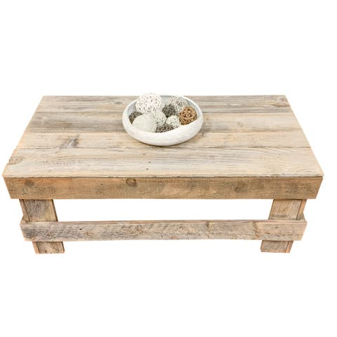Handmade Del Hutson Designs Barnwood Coffee Table