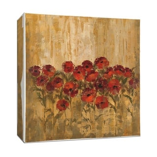 "PTM Images 9-153381  PTM Canvas Collection 12"" x 12"" - ""Sunshine Florals"" Giclee Flowers Art Print on Canvas"