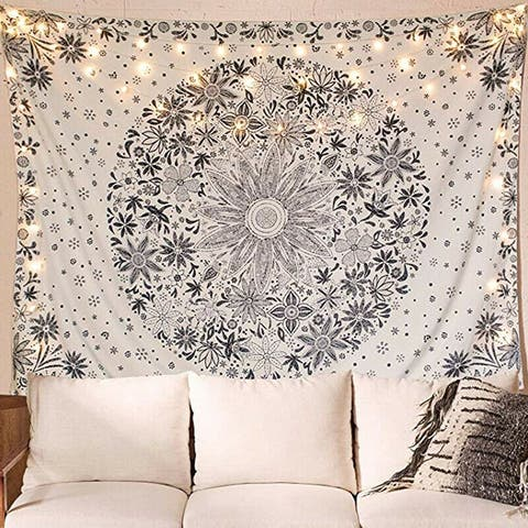 """Indian Wall Tapestry - 59"""" x 51"""""""