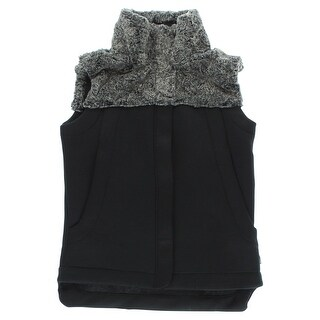 The North Face Womens Hibernation Neo Thermal Vest Black - Black/Grey