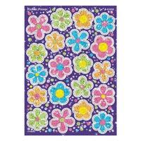 (12 Pk) Sparkle Stickers Flower Power