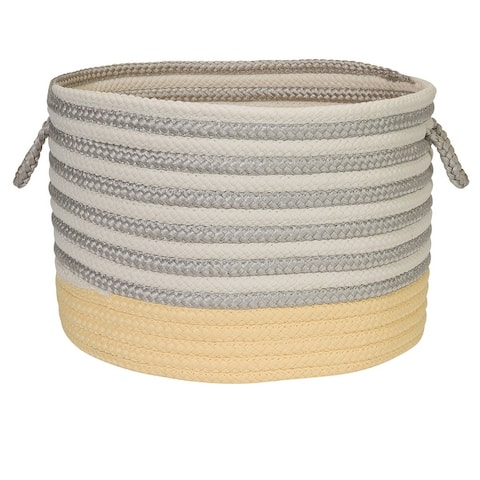 Chloe Stripe Basket