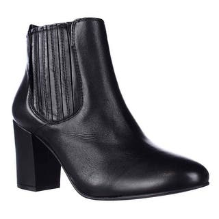 Steve Madden Gasto Block Heeled Chelsea Booties, Black|https://ak1.ostkcdn.com/images/products/is/images/direct/7e54dfa4cca6d0fcff2e0f23016e250dcad862dd/Steve-Madden-Gasto-Block-Heeled-Chelsea-Booties%2C-Black.jpg?impolicy=medium