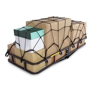 "ARKSEN Cargo Carrier Hitch Mount + Cargo Net Folding Luggage 60""x25"""